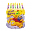 "26"" Pooh Cake W/ Candles"