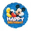 "18"" 3D Mickey Happy Birthday"
