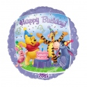 "18"" 3D Pooh & Friends Birthday"