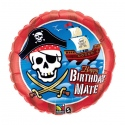 "18"" Bday Mate Pirate Ship"