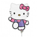 "11"" Mini Hello Kitty Pink & Purple"